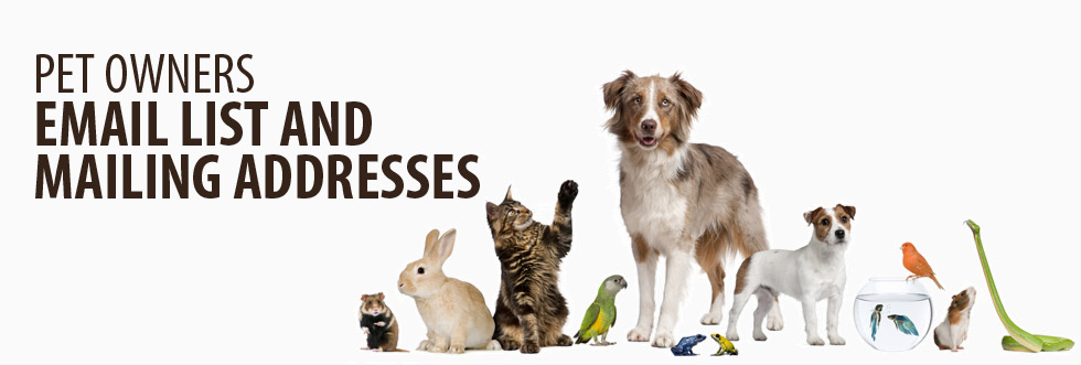 B2C Pet Owners Mailing Lists