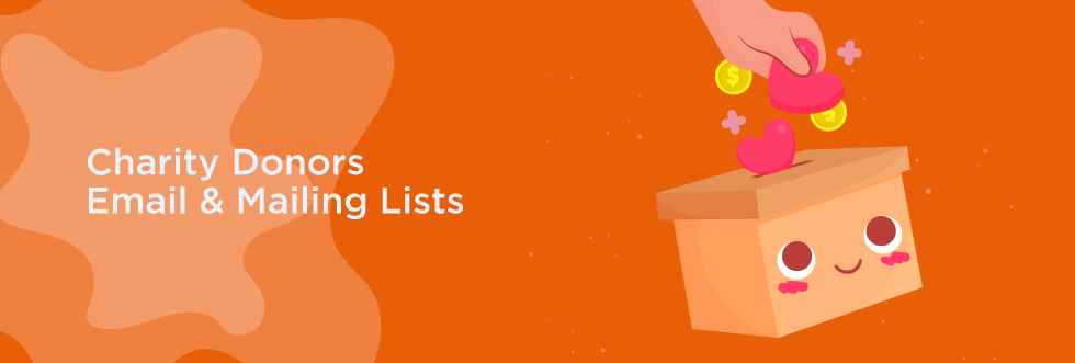 Charity Donors Email Lists
